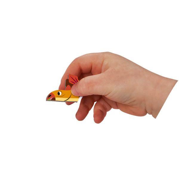 Розвиваюча іграшка Janod Магнитна книга Динозаври (J02590)