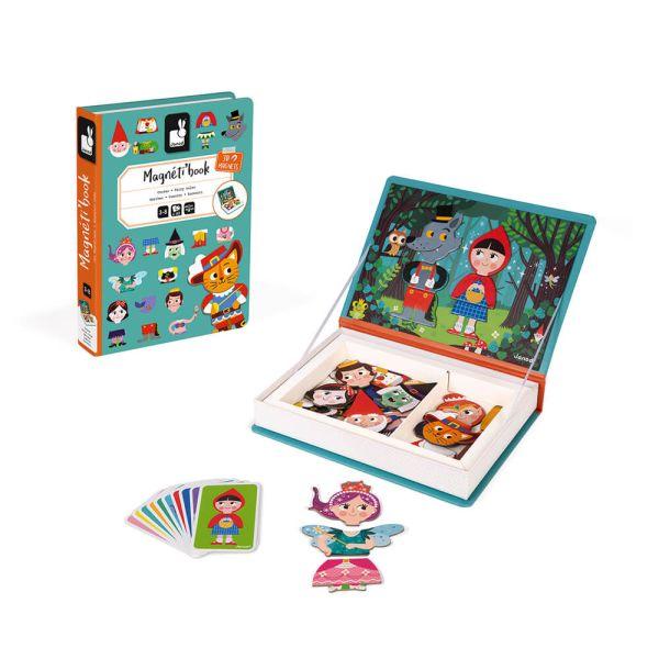 Розвиваюча іграшка Janod Магнитна книга Казки (J02588)