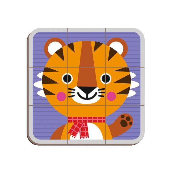 Розвиваюча іграшка Janod Магнитна книга Мікс тварин (J02587)