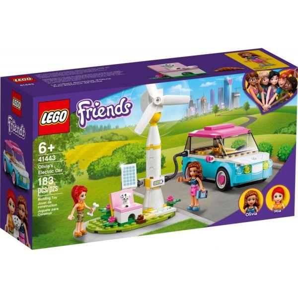 Конструктор LEGO Friends Электромобиль Оливии 183 детали (41443)